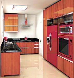 Projeto Izabel Souki - cozinha - madeira escura