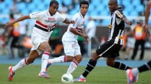 Jogadores do Tricolor lamentaram a derrota na estreia do Brasileirão